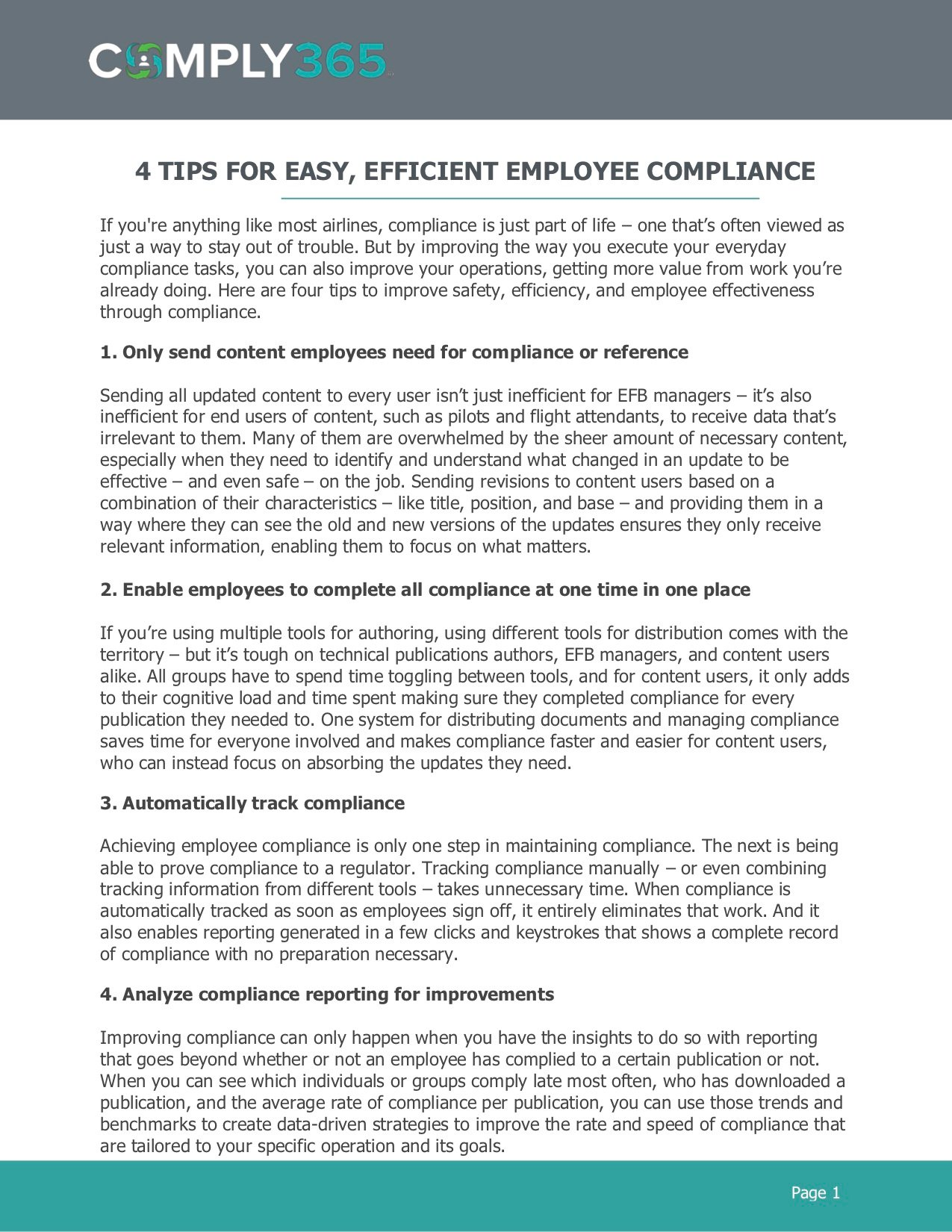 4 Tips for Easy, Efficient Employee Compliance-1