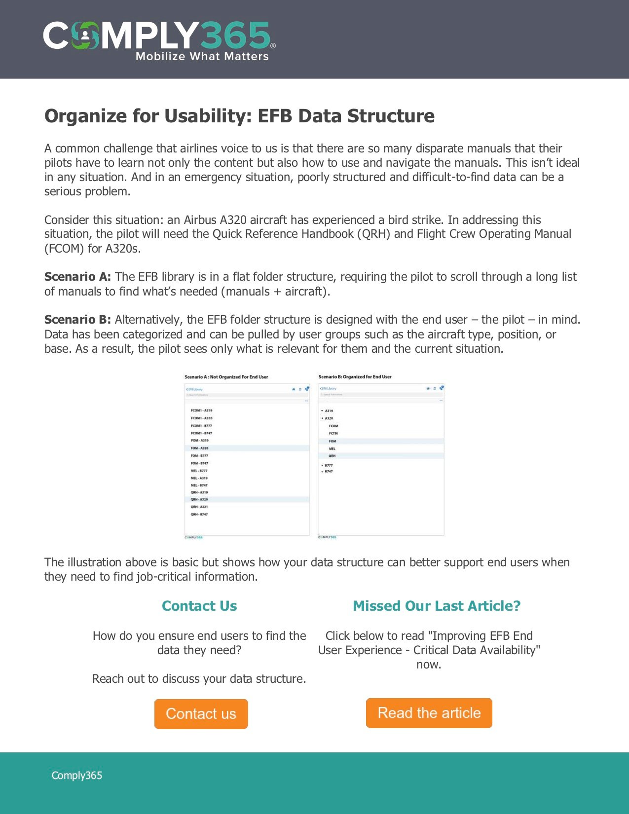 JPG - How to Structure EFB Data with the End User in Mind