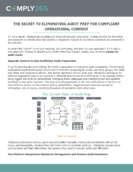 The Secret to Eliminating Audit Prep for Compliant Operational Content